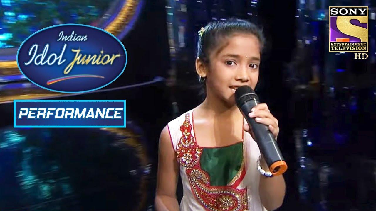 Download Sugandha Gets A Standing Ovation   Indian Idol Junior
