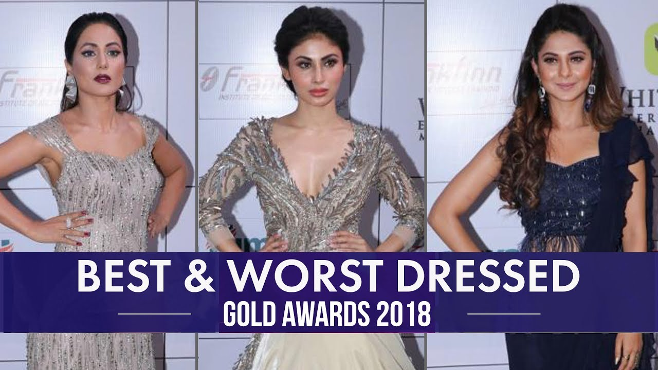 Hina Khan, Jennifer Winget, Divyanka Tripathi: Best and Worst Dressed from Gold Awards 2018