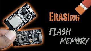 Erase flash memory lİke Magic 🎩   ESP8266   ESP32