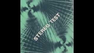 """STEREO TEST - Testskiva med Stereo-effekter - 7"""" LP - Sweden 196?"""