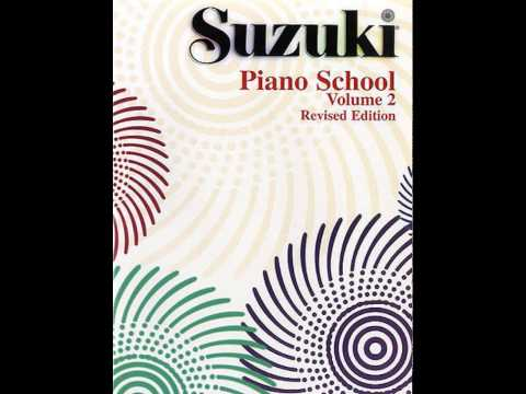 Suzuki Piano School Book 2 - Melody, from Album for the Young, Op. 68, No. 1 (R. Schumann)