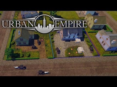 Urban Empire - An Upcoming, Tropico Style City Ruler Game, Our Irish Mayor! - English Gameplay Ep 1