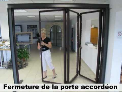 2nh porte accord on youtube for Decoration porte aluminium