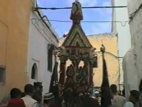 Cierges de Zawiya Ghazia- Salé-Morocco.