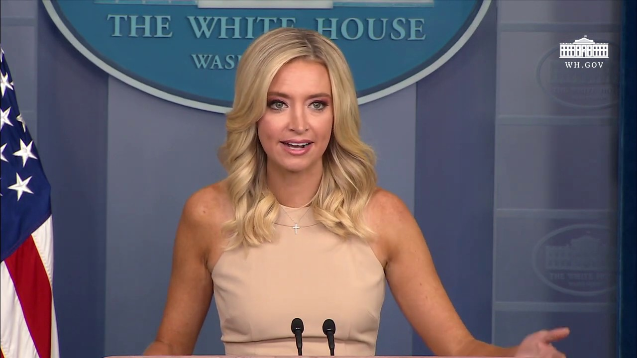 06 30 20 Press Secretary Kayleigh Mcenany Holds A Press Briefing Youtube