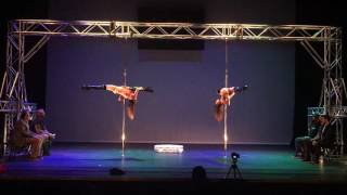 Choco Box Professional Pole Comedy Winning Routine - Pole Theatre 2016