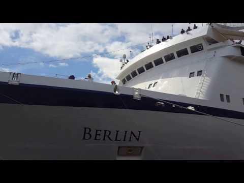 Cruise ship MS Berlin in Swinoujscie 19.07.2016/ Statek wycieczkowy MS Berlin w Świnoujściu