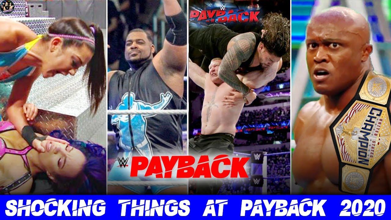 WWE Payback 2020 Highlights ...