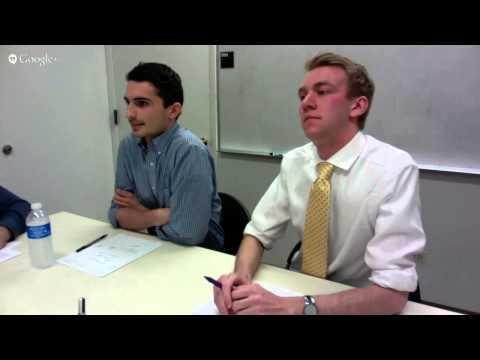 SGA debates: Treasurer