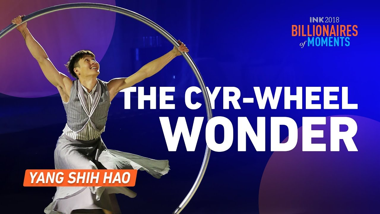 Yang Shih Hao: The Cyr-wheel Wonder