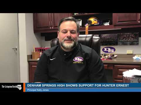 Denham Springs High School Offers Support To Greiving Student