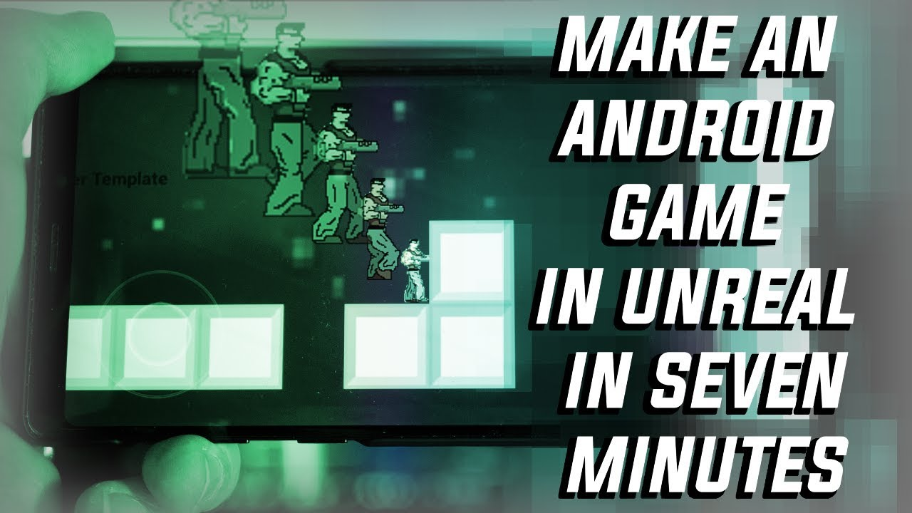 How to make a basic Android game in Unreal Engine in 7 minutes