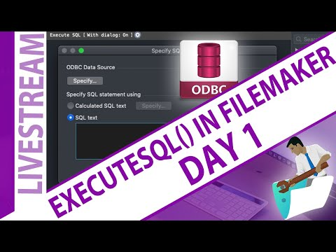 ExecuteSQL in FileMaker - for beginners - Day 1 Calvin Mosiman