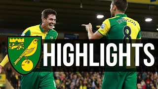 HIGHLIGHTS: Norwich City 3-0 West Brom