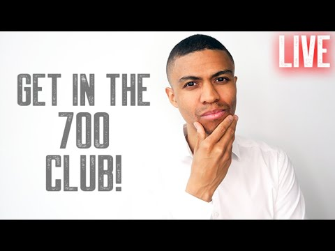 GET INTO THE 700 CLUB || FREE CREDIT REPAIR LIVE Q AND A