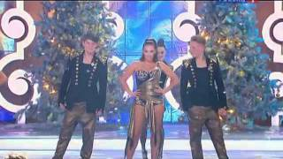 Жанна Фриске - Голубой огонёк 2012 (Россия 1)