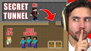 How Much Can I Steal Before Getting Caught? | Minecraft Home Invasion E3