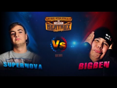 1/2 SUPERNOVA Vs BIG BEN ▸ 2014 BELGIAN BEATBOX CHAMPIONSHIP