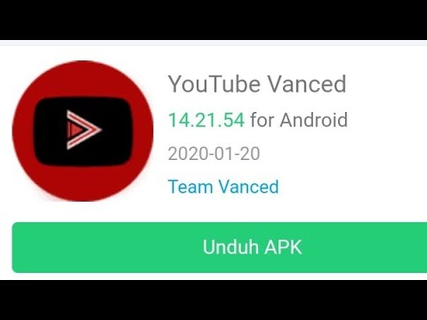 Dawnload YouTube Vanced 14.21.54 Android UNROOT