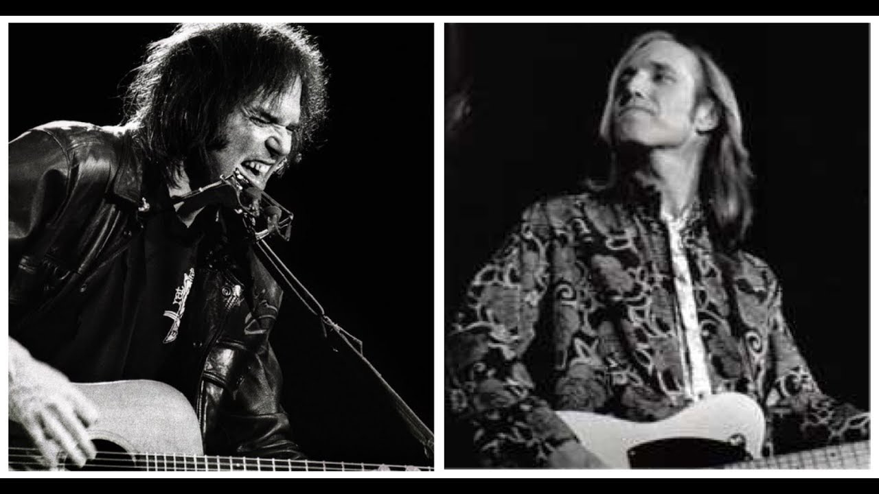 Neil Young Tom Petty Everything Is Broken Dylan Bridge Benefit 102889