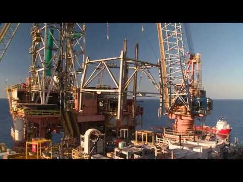 North Rankin Drill Derick Decommissioning