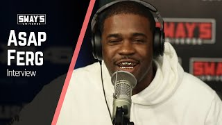 Смотреть клип Asap Ferg Freestyles Everything From Floor Seats, Asap Rocky And Fashion | Sways Universe