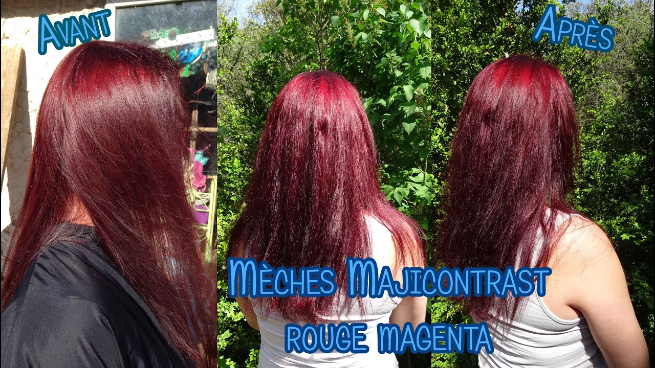coloration rouge loral professionnelle maijicontrast x majirouge x xp100 - Coloration Rouge Sans Dcoloration
