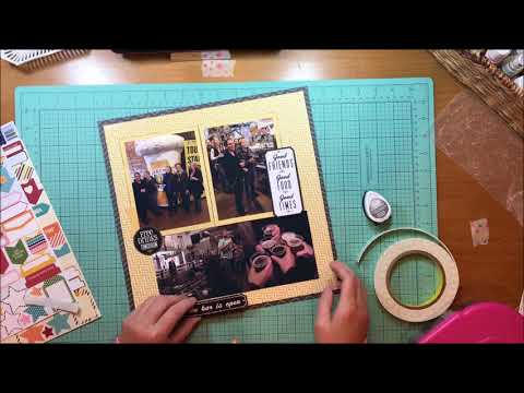 Scrapbook Process #251 Lakefront Brewery Book Club