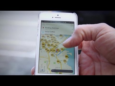 Take a Ride with the FlyWheel Taxi App