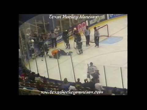 2002-2003 CHL Hockey Hits 12-15-02 Memphis Riverkings @ Austin Ice Bats