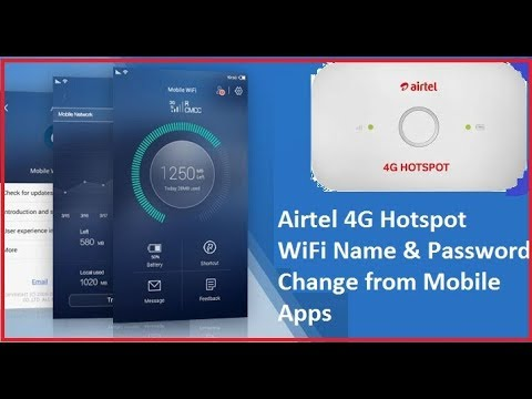 Airtel 4G Hotspot router Configuration First Time [Airtel