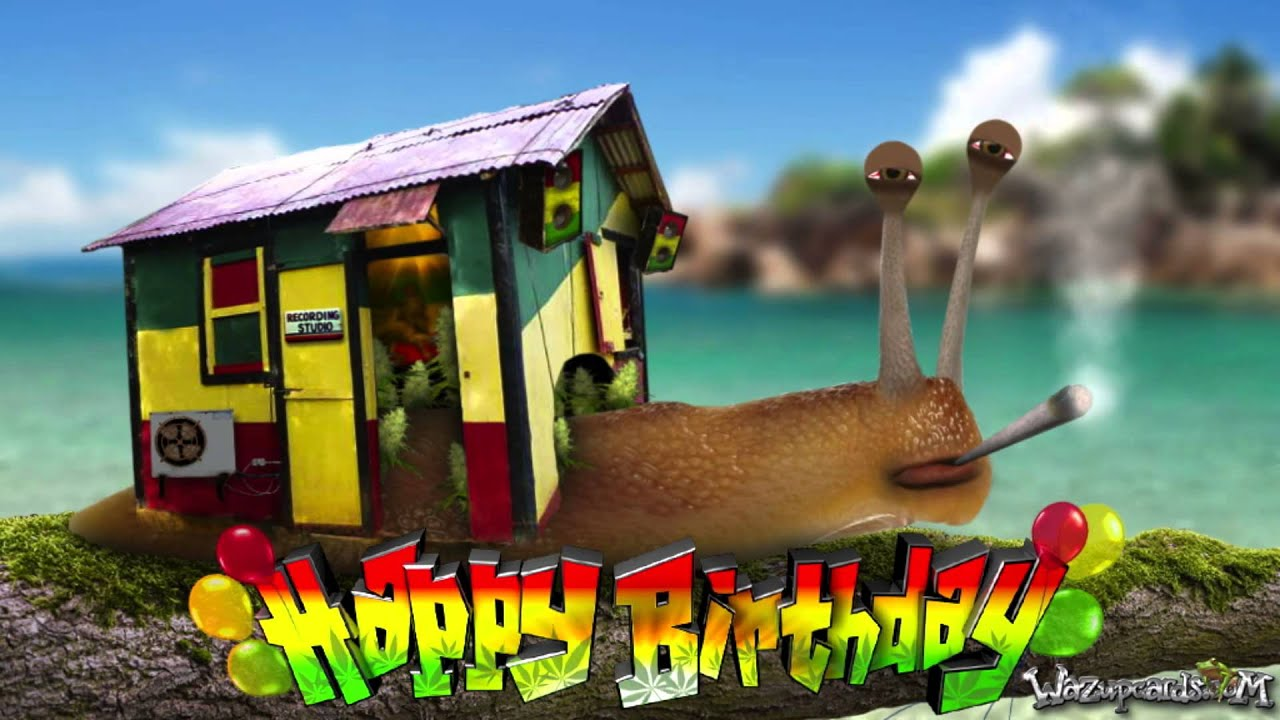 Rasta reggae snail wishes you a happy birthday youtube rasta reggae snail wishes you a happy birthday bookmarktalkfo Image collections