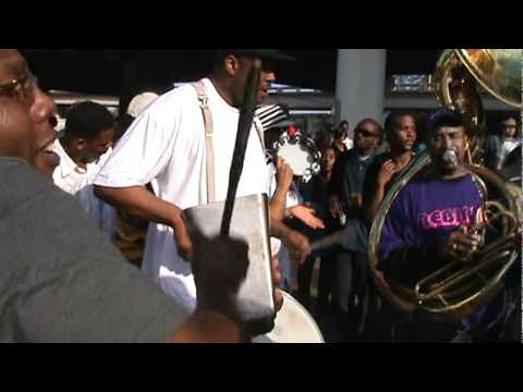 Rebirth Brass Band perform 'A.P. Tureaud' for Treme Sidewalk Steppers 2011 Second Line