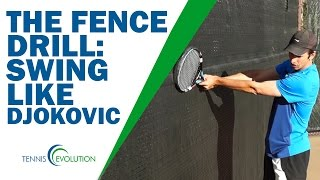 DJOKOVIC BACKHAND TIP | Simple Drill To Learn Djokovic Backhand