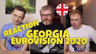 GEORGIA EUROVISION 2020 REACTION: Tornike Kipiani - Take Me As I Am