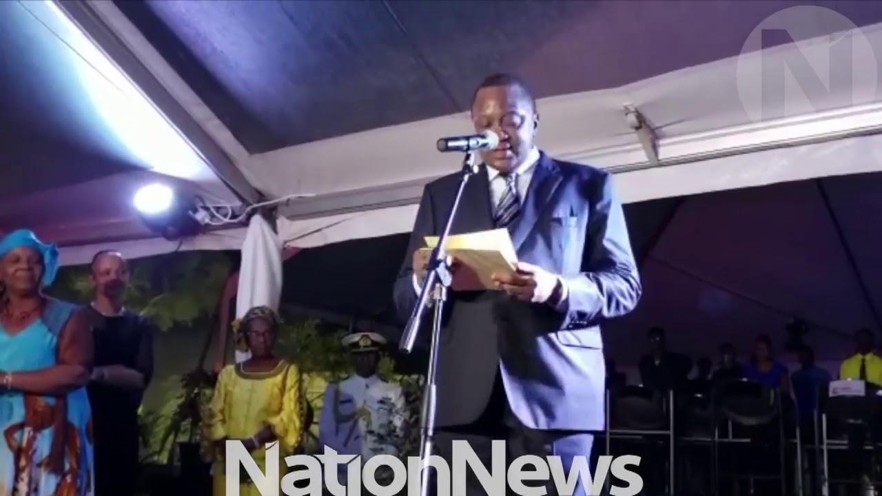 Nation Update: Uhuru Kenyatta addresses Barbados Government