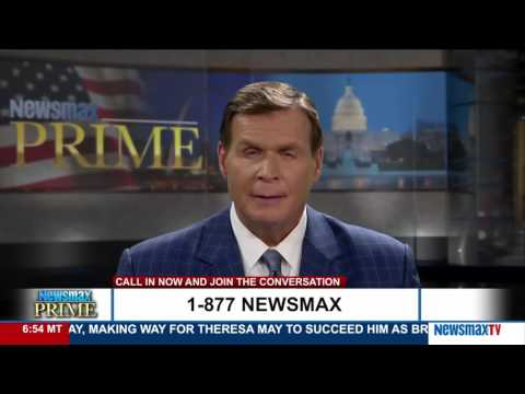 Newsmax Prime   John Gizzi talks about the New Black Panthers Party
