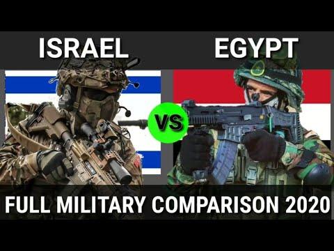 Military Comparison: Israel Vs Egypt Military Power 2020, Egypt Vs Israel Military Power 2020