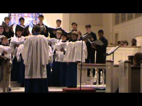 Birmingham Boys Choir 36th Annual Christmas Concert 2013 - Suo Gan - Soloist, Jordan Narkates
