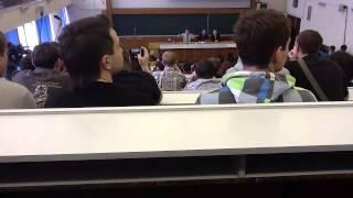 Жириновский в МГУ Part 1