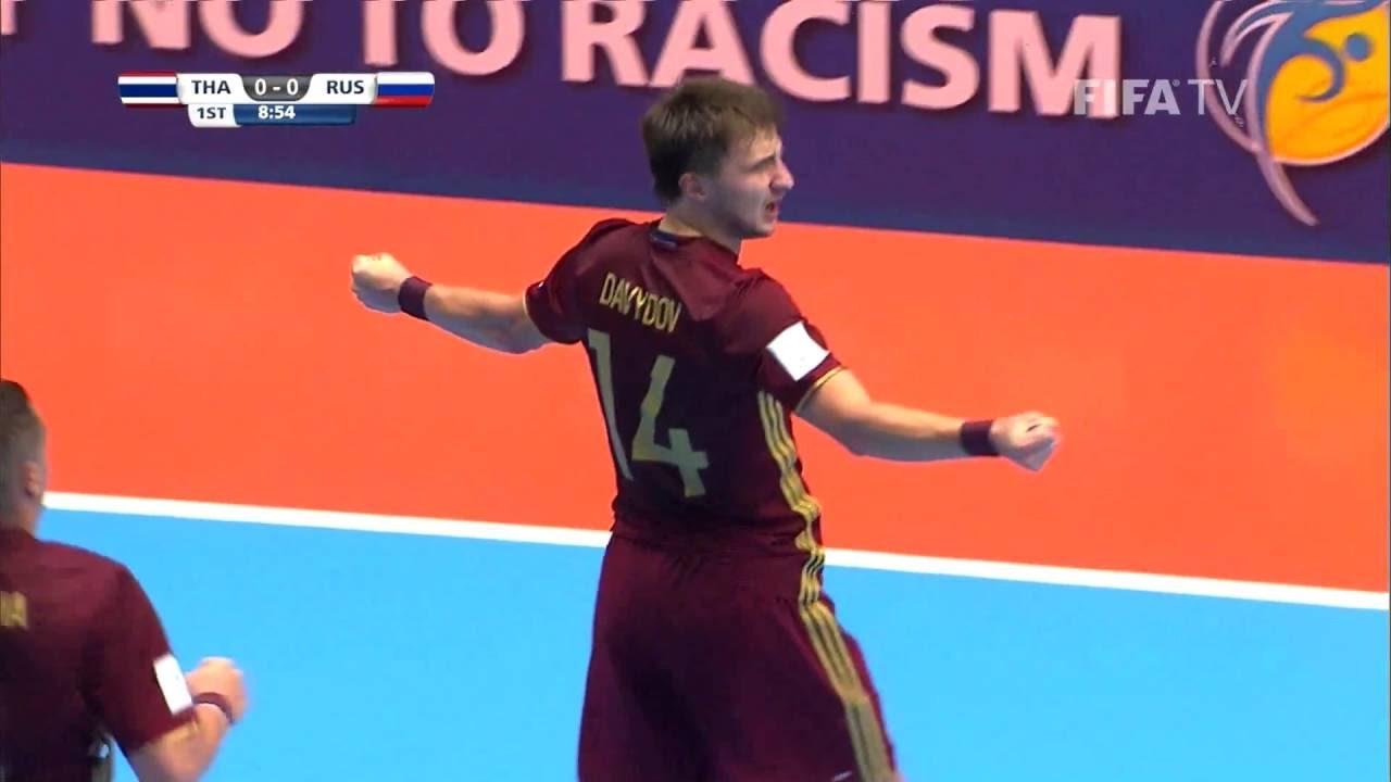 Video: Futsal Thái Lan vs Futsal Nga