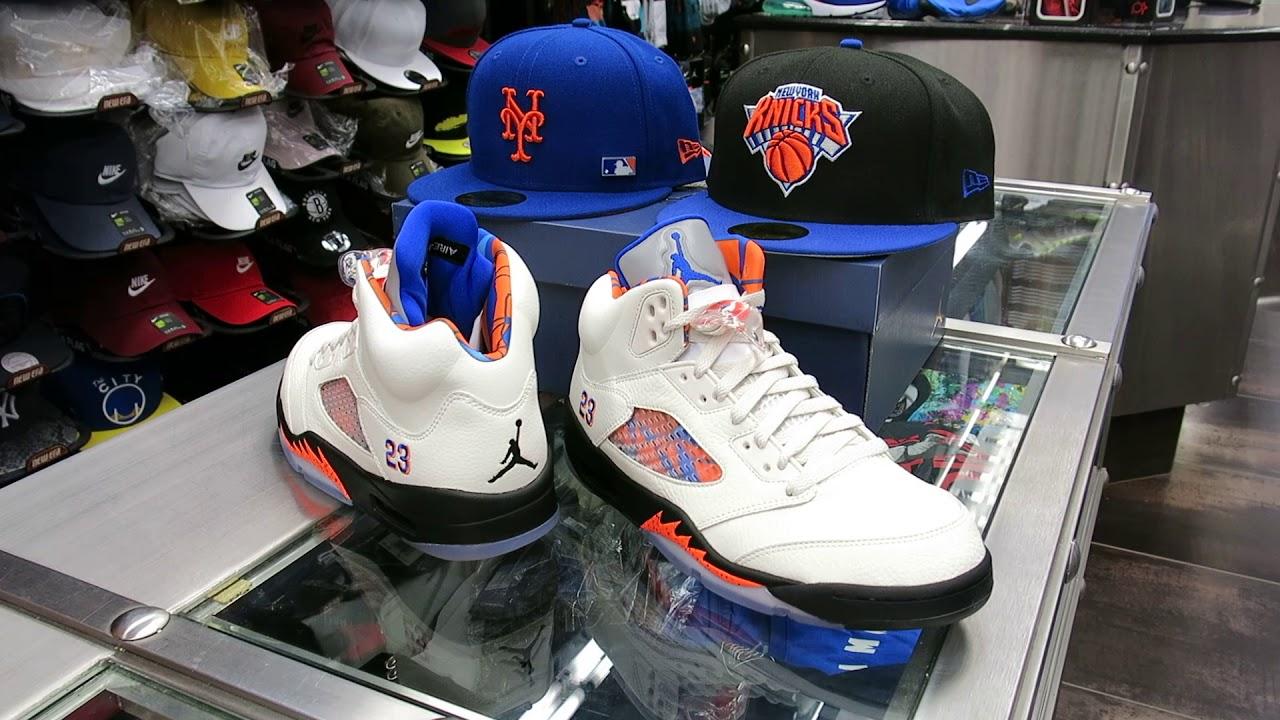 online retailer 47339 181f2 Nike Air Jordan Retro 5 Barcelona - at Street Gear, Hempstead NY