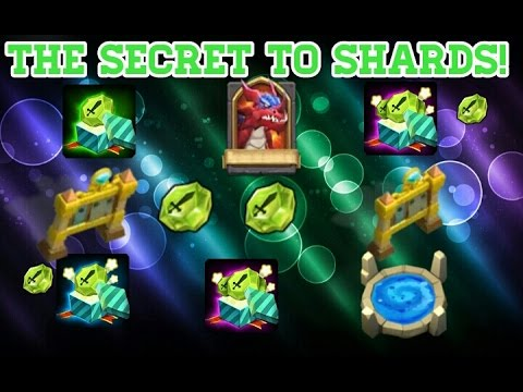 Castle Clash The Secret To Shards!