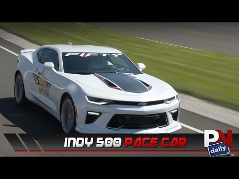2017 Chevrolet Camaro Ss 50th Anniversary Edition As Indy 500 Pace