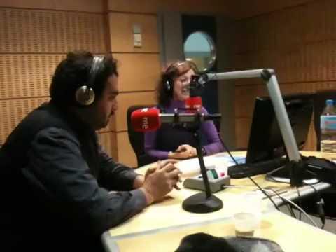 El Hombre Cerilla alla Radio Spagnola