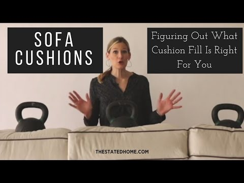 The Most Comfortable Sofa Seat – Choosing Sofa Cushions - The Stated Home American Made Furniture