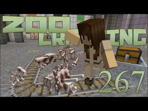 Fossil Finding Game! 🐘 Zoo Crafting: Episode #267 [Zoocast]