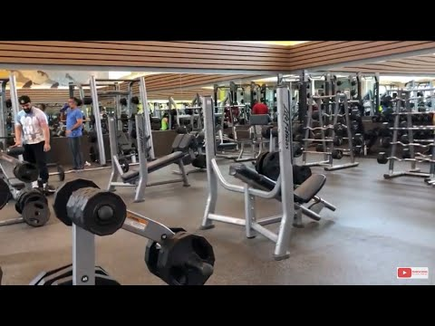 Tour Through LA Fitness RIOCAN Mississauga Plaza, Toronto Canada!!