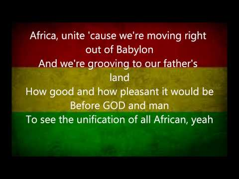 ziggy marley africa unite lyrics