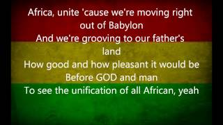 ziggy marley africa unite lyrics